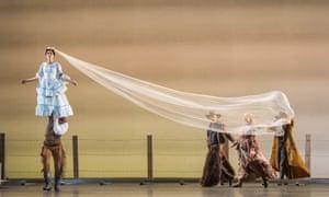 Thiago Soares (Lige Hightower) and Natalia Osipova (Letty Mason) in The Wind by Arthur Pita