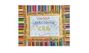 Sketchbook Club lets you create mini artworks