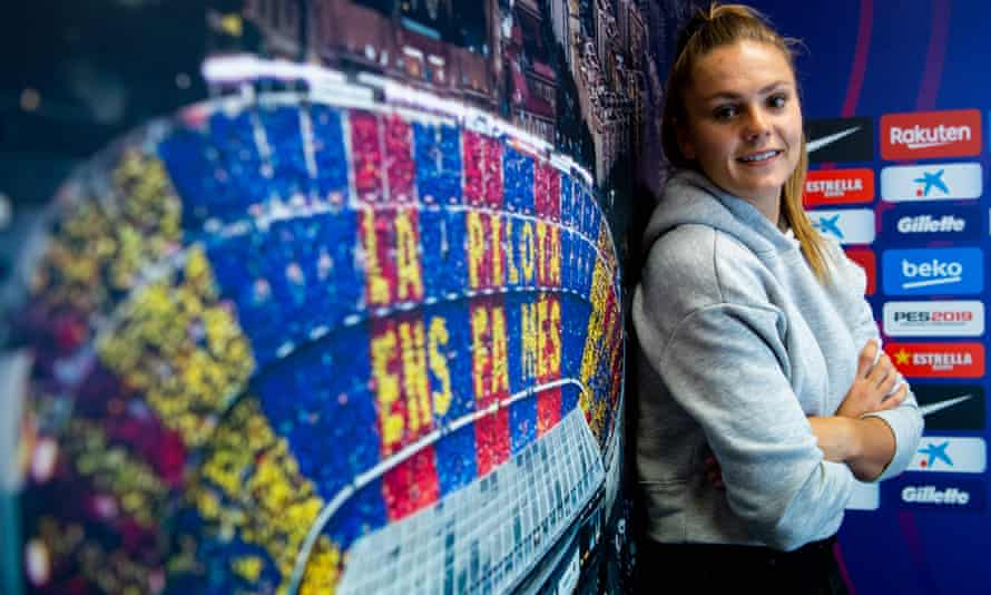 Lieke Martens' performances at the European Championships in 2017 earned her a move to Barcelona