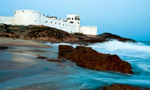 Cape Coast Castle, Ghana, where slaves awaited transit to the Americas. Photograph: Alamy