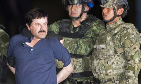 El Chapo was the world's most wanted drug lord  But has his brutal