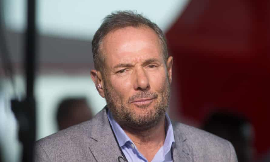 Derek Hatton at the Labour party conference in 2016.