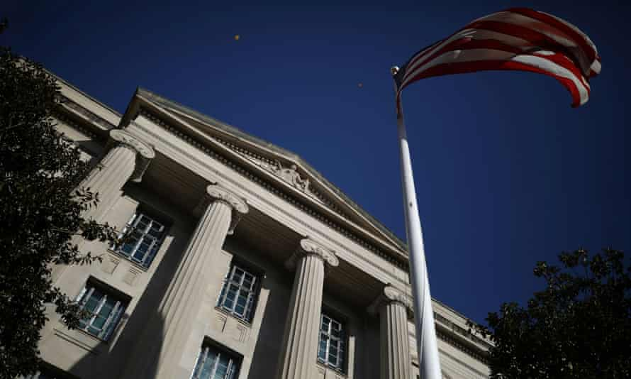 The Department of Justice building in Washington. Russia has denied responsibility for the hacking campaign, which has been described as one of the most sophisticated operations uncovered in years.