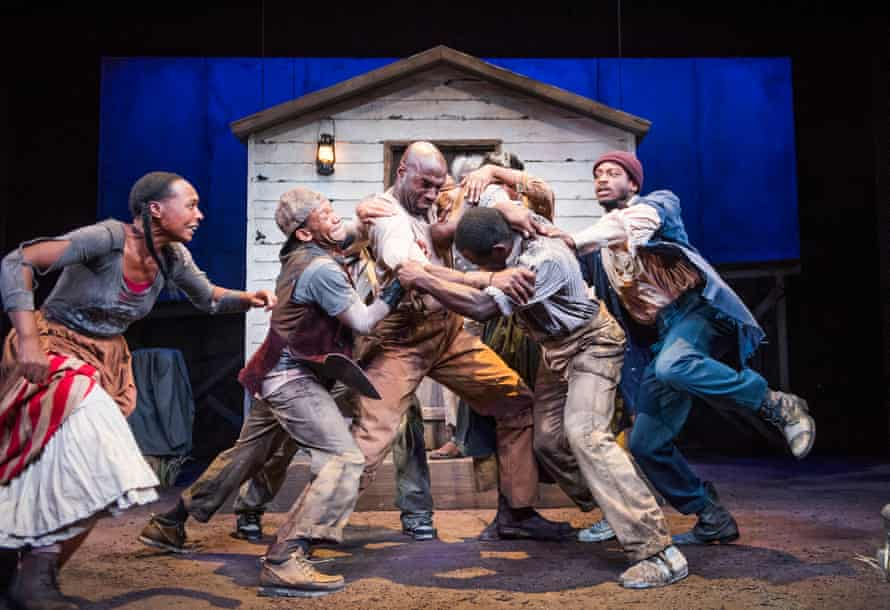Pushing the audience … Parks's play Father Comes Home from the Wars (Parts 1, 2 & 3).