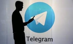 Telegram, one of the messaging services consumers are using to share content.