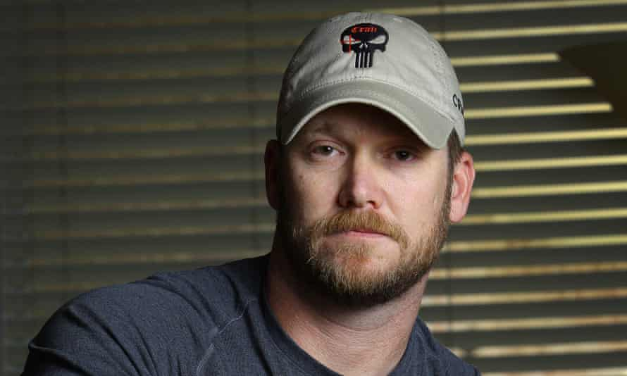 """Chris Kyle<br>FILE In this April 6, 2012, photo, former Navy SEAL and author of the book """"American Sniper"""" poses in Midlothian, Texas. Former Navy SEAL and Minnesota Gov. Jesse Ventura, who won $1.8 million in a defamation lawsuit last year against the estate of the late Chris Kyle, says he won't see the film partly because Kyle is no hero to him. He tells The Associated Press a hero must be honorable, and there' no honor in lying. Lyle claimed in his """"American Sniper"""" book that he punched out a man, whom he later identified as Ventura, at a California bar in 2006 for allegedly saying the SEALs """"deserve to lose a few"""" in Iraq. Ventura said it never happened. (AP Photo/The Fort Worth Star-Telegram, Paul Moseley, File)"""