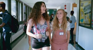 Emily Robinson and Elsie Fisher, right, in Eighth Grade.