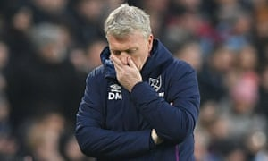 David Moyes cannot hide his frustration during West Ham's FA Cup defeat
