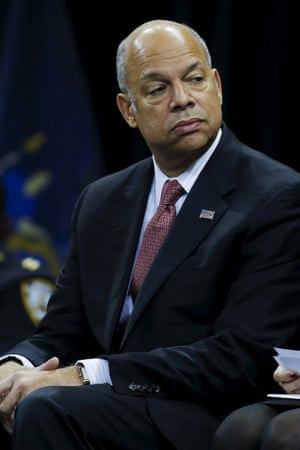 The homeland security secretary, Jeh Johnson: 'If you come here illegally, we will send you back.'
