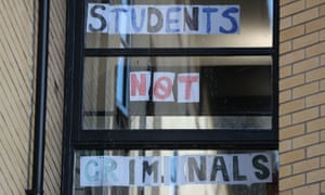 Students forced to isolate at a Glasgow University hall of residence respond to negative media coverage.
