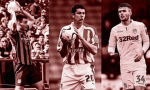 Andrea Mancini, son of Roberto, in friendly action for Manchester City; Anthony Pulis, son of Tony, making a rare League Cup appearance for Stoke; and Paul McKay, son of the agent Willie, playing for Leeds in the FA Cup