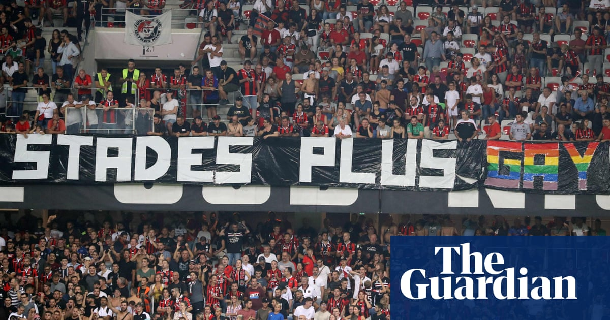 Managers react to Nice v Marseille being suspended because of homophobic banners – video