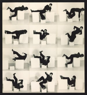 Bruce McLean's Pose Work for Plinths 3, 1971.