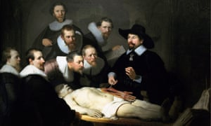 The Anatomy Lesson of Dr Nicolaes Tulp by Rembrandt
