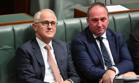 Malcolm Turnbull and Barnaby Joyce