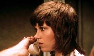 Jane Fonda in Klute.