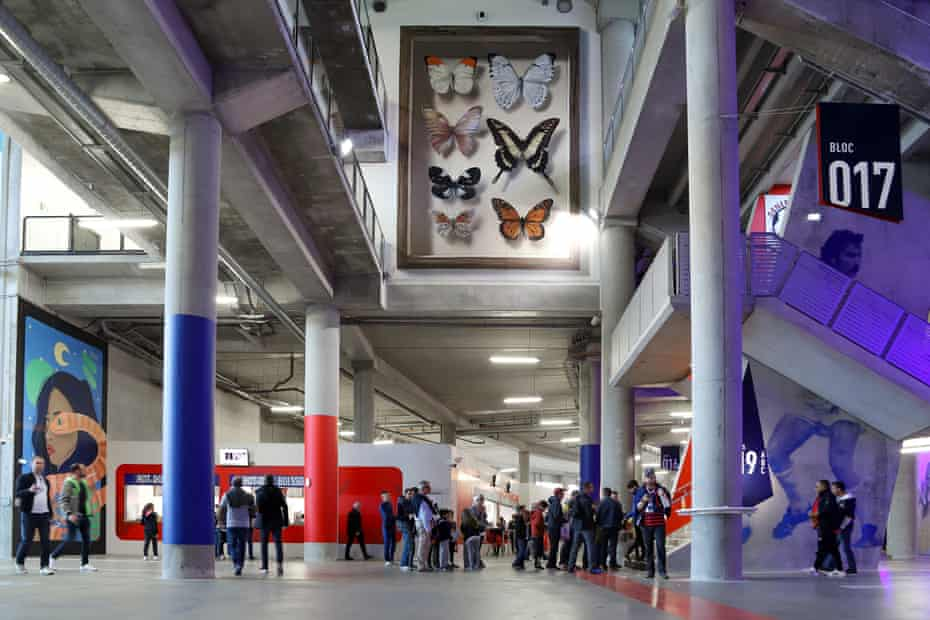 Offside Gallery at Stade de Lyon.