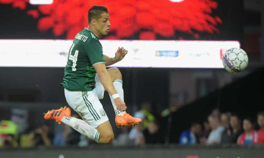 Javier Hernández has scored four goals for Mexico in the last two years
