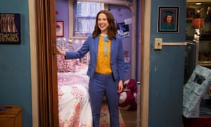 Ellie Kemper in Unbreakable Kimmy Schmidt. The show is heartfelt without being sappy, and consistently smart and quick-witted.