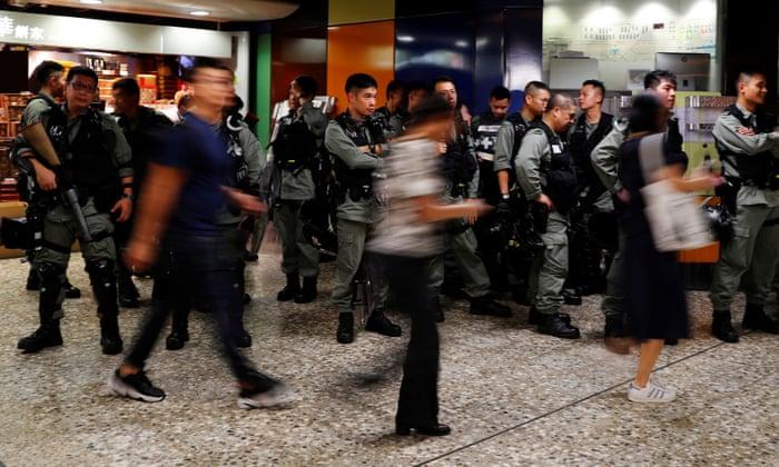 Hong Kong students boycott classes as Chinese media warns