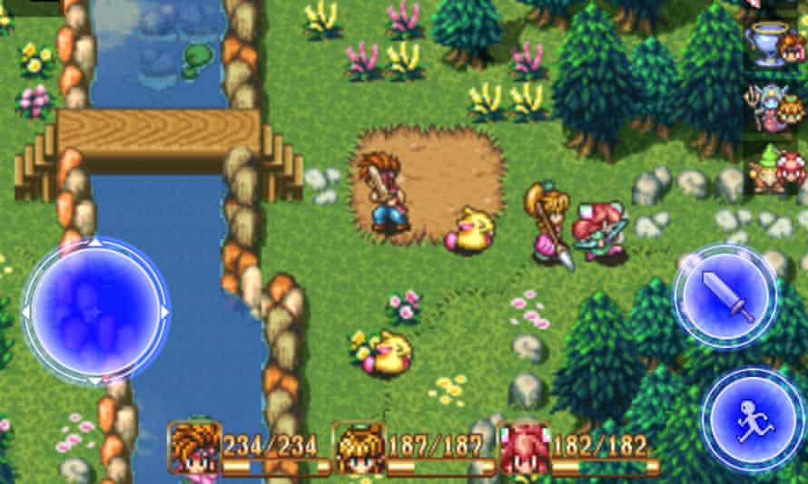 Secret of Mana was one of the great Snes role-playing adventures