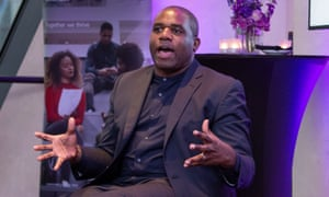 David Lammy spoke at a Guardian/HSBC event on diversity and inclusion in higher education in London.