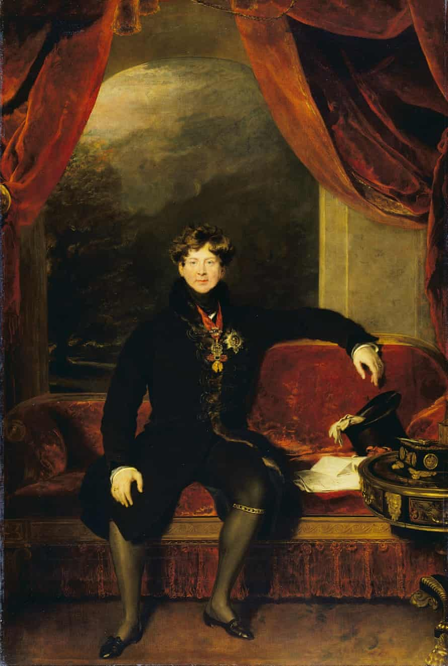 Thomas Lawrence (1769 - 1830) George IV, 1822 Great Gallery, the Wallace Collection