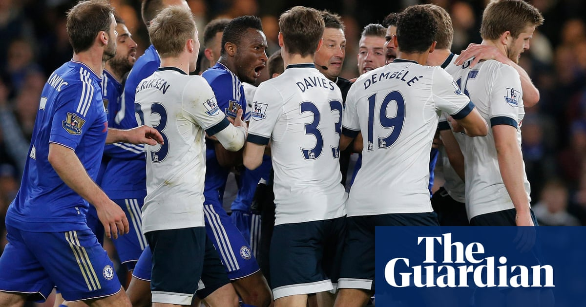 Leicester celebrate first title after Chelsea recover for Tottenham draw 52ba4083b