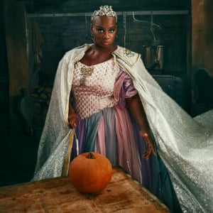 Andi Oliver as the Fairy Godmother Observer Food Monthly Christmas taste test OFM Xmas 2017