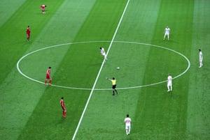 Diego Costa gets things underway.