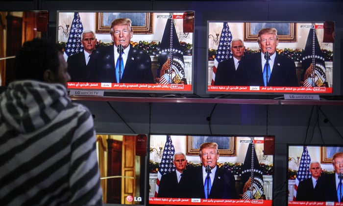 Defiant Donald Trump confirms US will recognise Jerusalem as capital