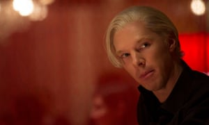 The Fifth Estate film still Benedict Cumberbatch stars as WikiLeaks founder Julian Assange in DreamWorks Pictures The Fifth Estate