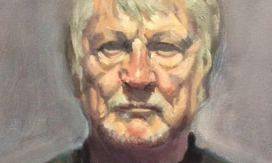 A self-portrait by Colin Painter