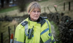 Sarah Lancashire as police sergeant Catherine Cawood in Happy Valley, series two.