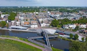 Melkwegbridge by Next Architects in Purmerend, the Netherlands