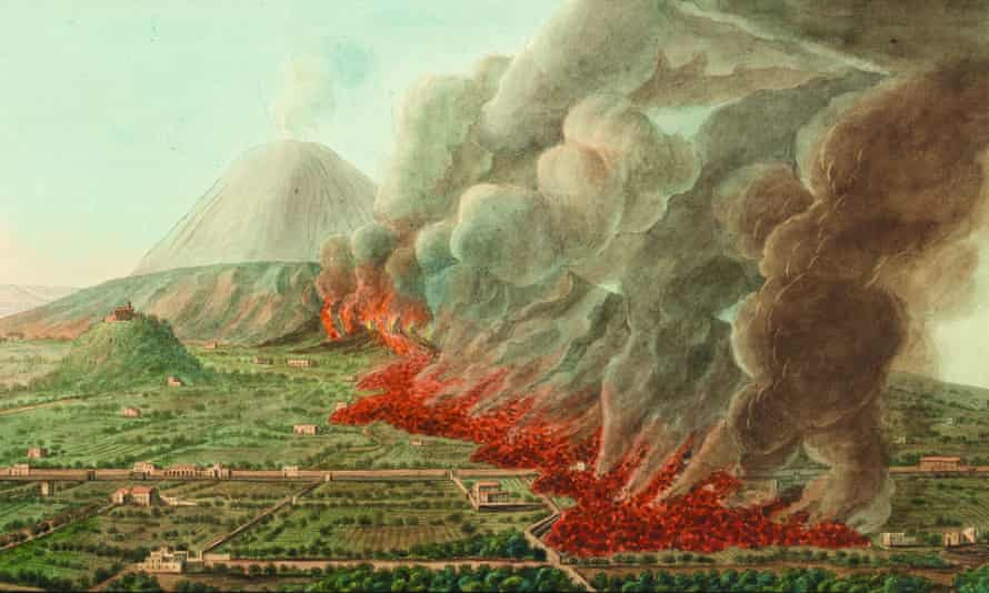 Sir William Hamilton's volcano archive includes paintings he commissioned.