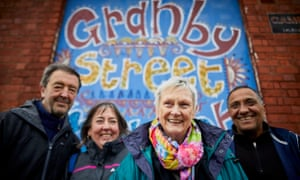 granby street liverpool housing protesters Ronnie Hughes, Theresa MacDermott, Eleanor Lee, and Joe Farrag