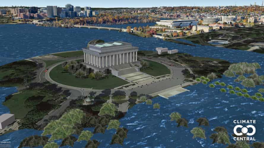 POF USA DC Washington DC Lincoln Memorial L13 3p0C Unlabeled