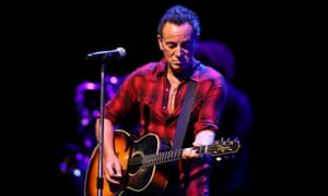 Bruce Springsteen in Perth on Sunday