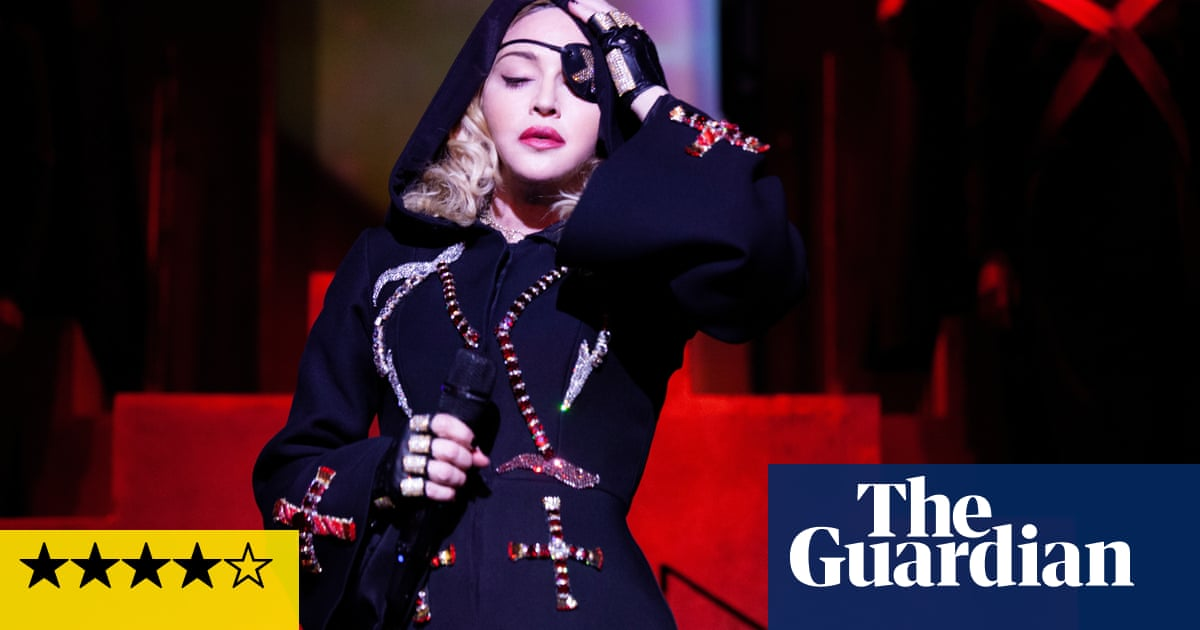 Madonna review – chutzpah, spy chic and revolutionary zeal