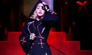 Madonna: cut off in her prime.