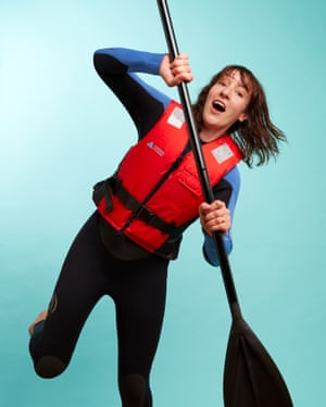 'Paddleboarding is a mix between surfing and kayaking.'