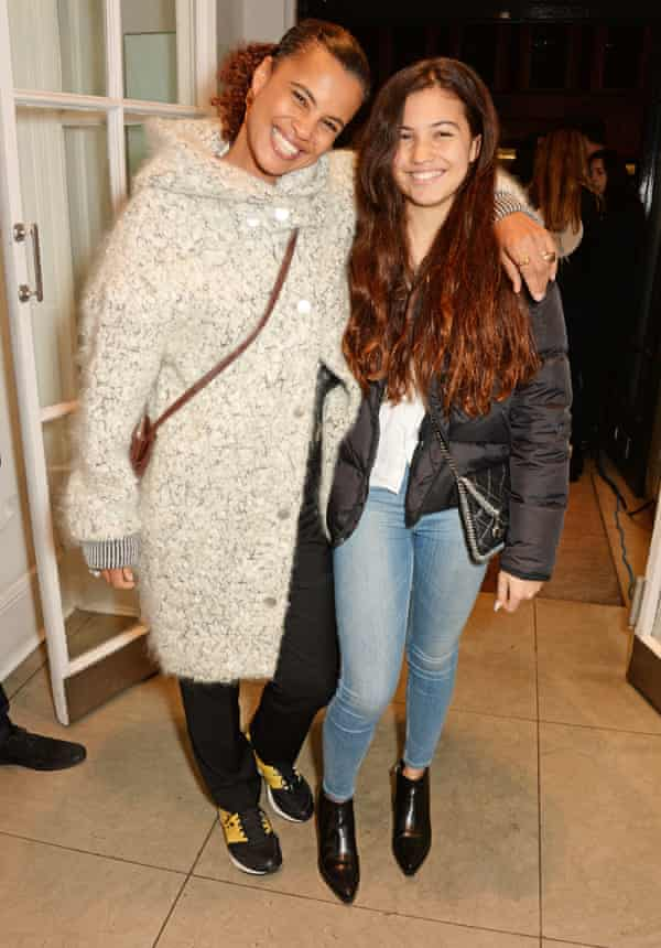 Neneh Cherry (L) and daughter Mabel in 2014