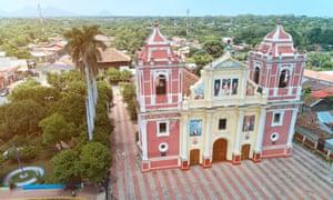 Church in León, Nicaragua.