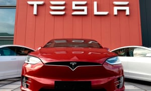 Tesla is the market leader in electric cars.