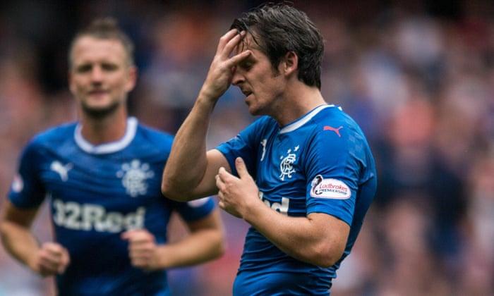 Joey Barton suspenso por três semanas pelo Rangers depois de conversas com Warburton