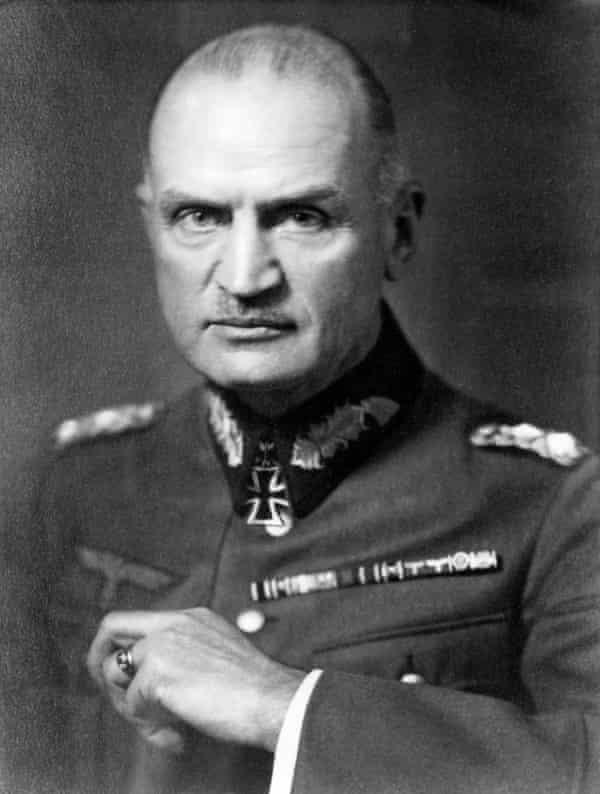 Colonel General Blaskowitz.