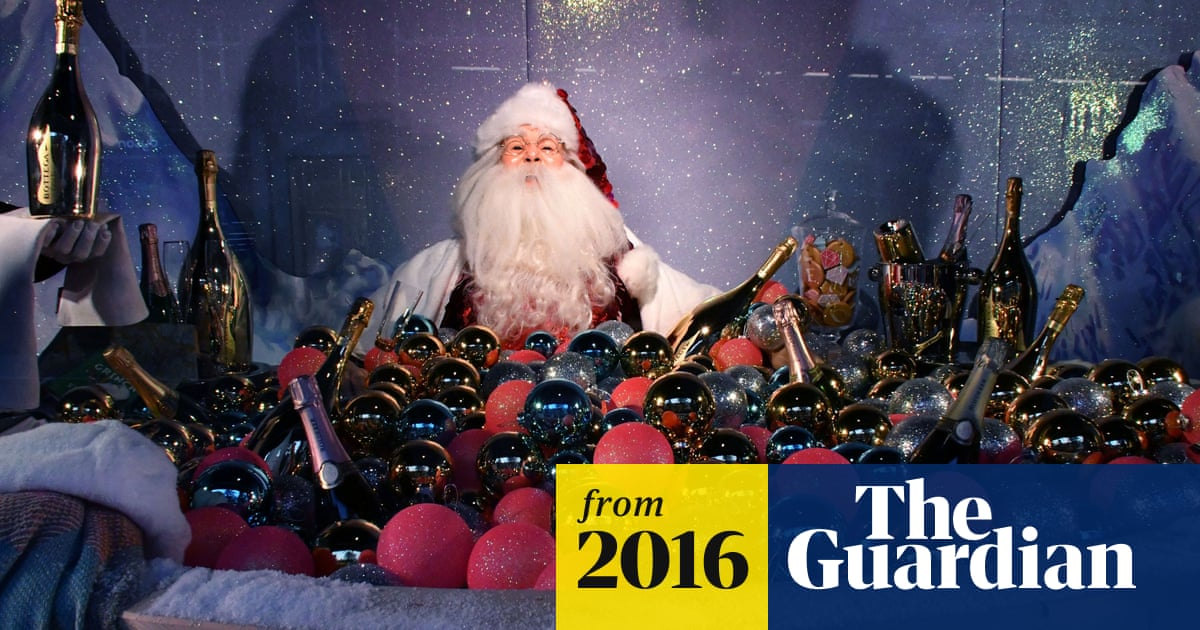 a7bd655ed48 Santa comes to Selfridges early – and he's everywhere | Business ...