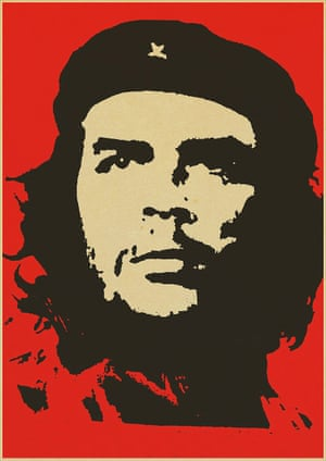 Officially titled The Heroic Guerrilla Fighter, this 1967 Che Guevara poster became ubiquitous – appearing worldwide on bedroom walls, at protests and in souvenir shops.