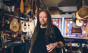 Jaron Lanier at home in Berkeley, California.